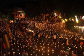CHIANGMAI THAILAND - NOVEMBER 18 : Loy Krathong festival, celebr — Stock Photo
