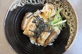 Chicken teriyaki with rice — Stock Photo