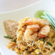 Stock Photo: Thai food padthai fried noodle with shrimp