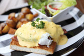 Egg benedict — Stock Photo