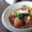 Braised pork belly in Japanese style — Stock Photo #45468667