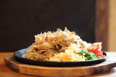 Japanese cuisine, fried noodles Yakisoba  — Stock Photo
