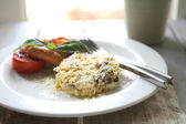 Scrambled egg — Stockfoto