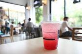 Strawberry soda — Stock Photo