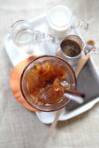 Ice latte coffe — Foto de Stock