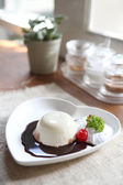 Panna cotta — Stock Photo