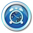 Alarm clock icon — 图库照片 #12960561