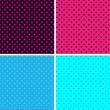 Pattern Polka Dot - Stock Vector