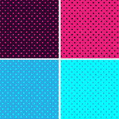Pattern Polka Dot — Stock Vector