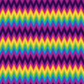 Vector patrón retro zig zag chevron — Vector de stock