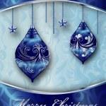 Merry Christmas Vector Card — Stock Vector #15314173