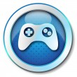 Joystick icon — Stock Photo