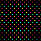 Colorful Polka Dot Pattern Vector — Stock Vector