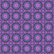 Kaleidoscope texture seamless pattern — Stock Photo