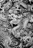 Chinese style dragon — Stock Photo