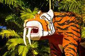 Smilodon - Saber Tooth Tiger — Stock Photo