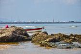 Hua Hin fishing town — Stock Photo