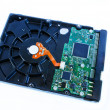 Harddisk for data storage — Stock Photo