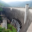 Electricity Generator front of Phumiphon Dam — Stock Photo