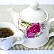 Cup of hot tea close up shoot — Stock Photo