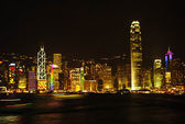 Hongkong skyline — Stock Photo