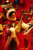 Chinese doll in traditional dress — Stock Photo