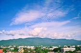 Chiang mai province görünümünde peyzaj — Stok fotoğraf