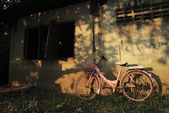 Rusted Vintage Bike — Stock Photo