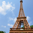 Stock Photo: Eiffel tower replica