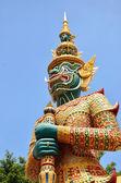 Nków starożytnej świątyni szmaragdowego buddy w bangkoku, — Zdjęcie stockowe