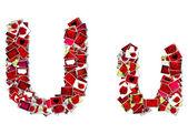Czcionki (kolekcja miłości) — Zdjęcie stockowe