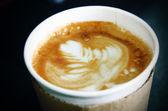 Cappuccino coffee — Stock Photo