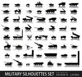 Militaire — Stockvector