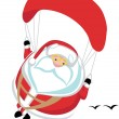 Royalty-Free Stock Vector Image: Extreme Santa