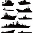 Stock Vector: Naval set