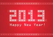 Happy New Year! — Vector de stock