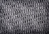 Black burlap texture — Stock Photo
