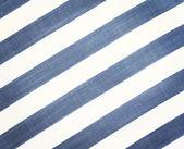 条纹的织物纹理 — 图库照片