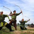 Stock Photo: Medieval archers