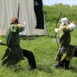 Medieval archers - Stock Photo