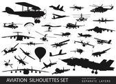 Aviation — Stock Vector