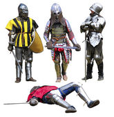 Knights — Stock Photo