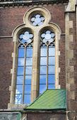 Janela de igreja — Fotografia Stock