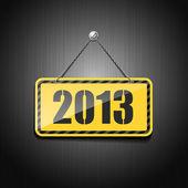 2013 标志挂链 — 图库矢量图片