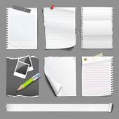 白皮书集合设计 — 图库矢量图片