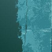 Vintage grunge textures blue background — Stock Vector
