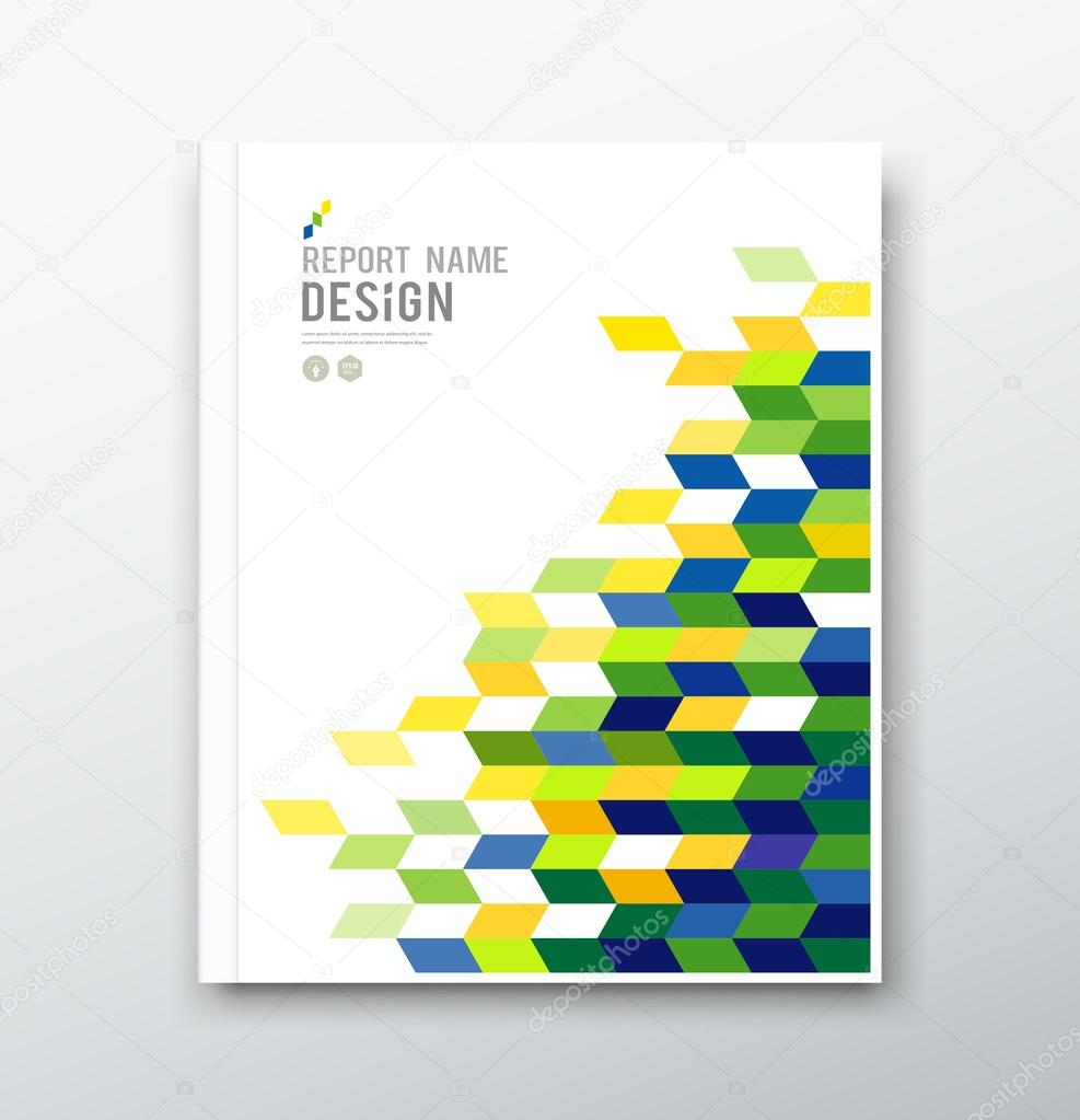 cover annual report flag of geometric design stock vector cover annual report flag of geometric design background vector illustration vector by sarunyu foto