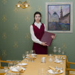 Stock Photo: Waitress