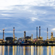 Oil refinery plant in dawn. — Stock Photo #12174854