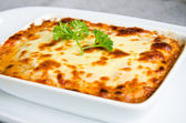 Fresh lasagna — Stock Photo